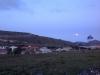Dedina Quilitoa ráno