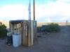 Historický záchod na Route 66 Arizona