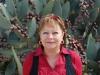 Marianka pred kaktusom v Barstow, Route 66 California