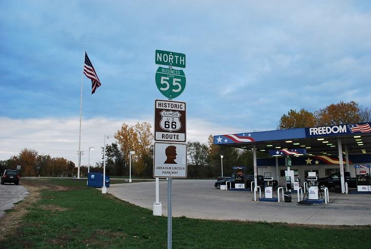 Historic Route 66, Springfield, Illinois, USA