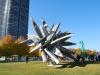 Monument pri Navy Pier Park, Chicago, Illinois