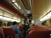 Vo vlaku z Brookfieldu do Chicaga, Illinois