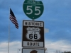 Historic Route 66, Springfield, Illinois, USA