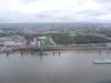 Rieka Mississippi z vtáčej perspektívy, St. Louis, Missouri