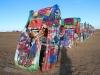 Cadilaky v Amarillo, Route 66 Texas