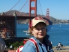 San Francisco, pri Golden Gate Bridge