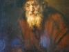 Rembrandt, Portrét starého Žida, Ermitáž