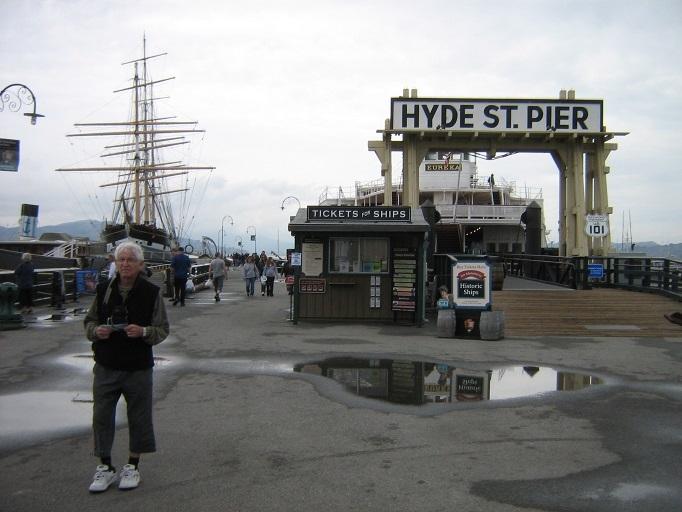 San Francisco, Hyde St, Pier