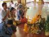 Pagoda v Botanickej záhrade, Siem Reap, Kambodža