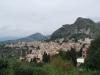 Pohľad na mesto z Gréckeho divadla, Taormina, Sicília