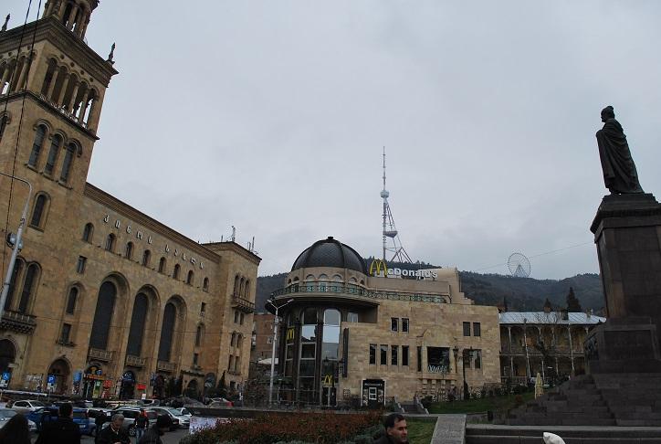 Námestie Ružovej revolúcie, Tbilisi