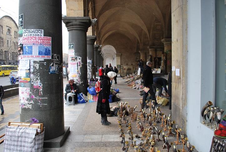 Blší trh, Tbilisi