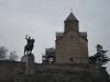 Kostol Metekhi a socha kráľa Vachtanga Gorgasaliho, Tbilisi
