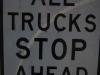 Dopravná značka, Kalifornia