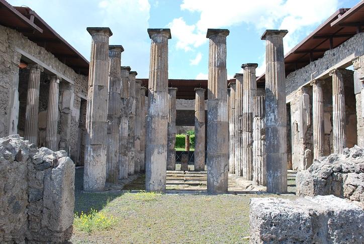 Pompeje - vykopávky