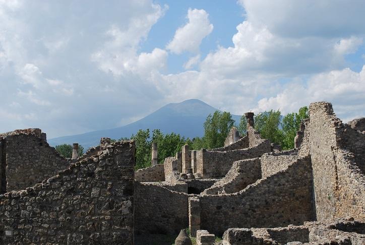 Pompeje pod sopkou Vezuv