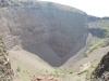 Sopka Vezuv - kráter