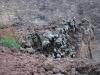 Sopka Vezuv - síra, láva a zeleň