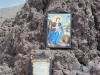 Sopka Vezuv - kaplnka z lávy