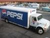 Kamión Pepsi, Manteca, Kalifornia