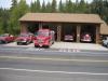 Hasičská stanica, Groveland, Kalifornia