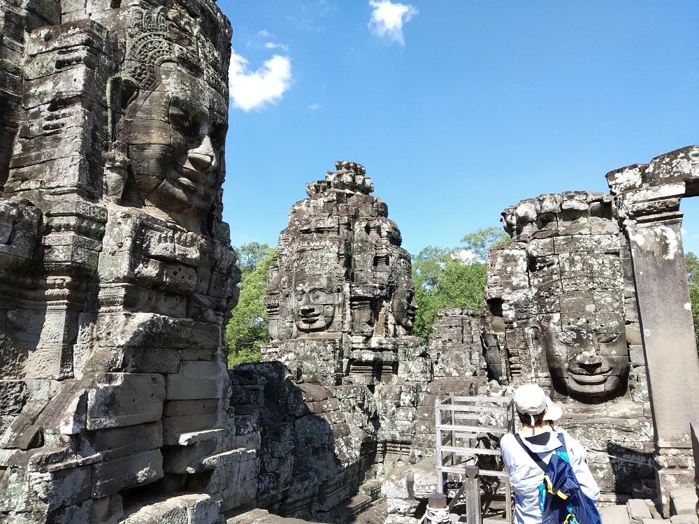 Bayon Anghor Thom, Kambodža