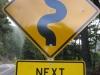 Dopravná značka, severná Kalifornia