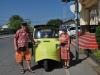 Náš tuktuk v Ayutthaya, Thajsko