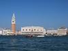 Pohľad na Dóžov palác, Benátky