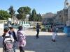Pred Kostolom Narodenia pána, Betlehem, Palestína