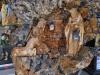 Náboženský motív vyrezávaný z olivového dreva, Betlehem, Palestína