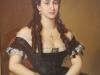 Misu Pop: Slečna Anastasia Rudeanu, sestra herca Grigore Manulescu, 1870, Národná galéria, Bukurešť