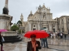 Marianka na Piazza Duomo, Catania, Sicília