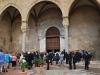Nedočkaví svadobčania pred katedrálou v Cefalù, Sicília