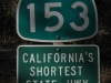 153, Najkratšia diaľnica v Kalifornii