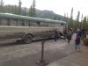 Zablatený autobus