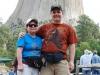 Sme pri Devils Tower, Wyoming