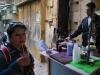Jerusalem, Via Dolorosa, osvieženie šťavou z granátových jabĺk