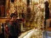Jerusalem, Via Dolorosa, Kostol božieho hrobu, replika hory Golgota