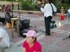 Večer v Starom prístave, Key West, Florida