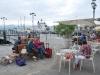 Čakanie na loď, Milazzo, Sicília