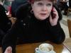 Marianka telefonuje pri kávičke, Londýn