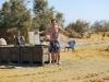 Bahnenie v sírnom kúpeli, Ein Gedi, Izrael