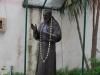 Neapol, socha na ulici