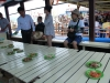 Chystajú nám obed na lodi, Nha Trang, Vietnam