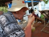 Obed na lodi, Nha Trang, Vietnam