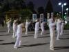 Ranné cvičenie tajči, Nha Trang, Vietnam