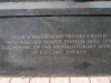 Pamätná tabuľa na počesť Nikolu Teslu, Niagarské vodopády, USA