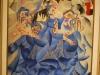 Gino Severini: Modrá balerína, 1912