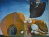 Salvador Dalí: Zrodenie tekutých túžob, 1932